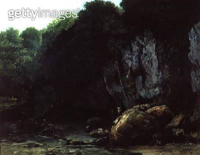 <b>Title</b> : The Stream from the Black Cavern<br><b>Medium</b> : oil on canvas<br><b>Location</b> : Musee des Augustins, Toulouse, France<br> - gettyimageskorea