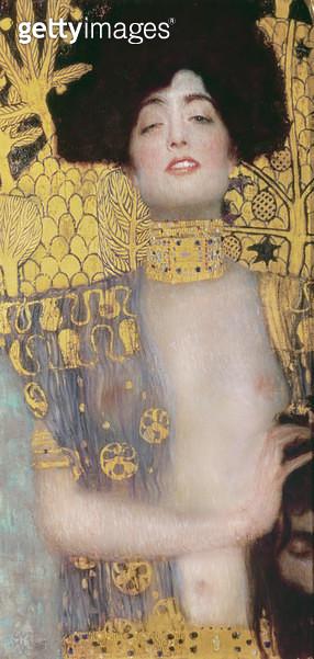 <b>Title</b> : Judith, 1901 (oil on canvas)<br><b>Medium</b> : oil on canvas<br><b>Location</b> : Osterreichische Galerie Belvedere, Vienna, Austria<br> - gettyimageskorea