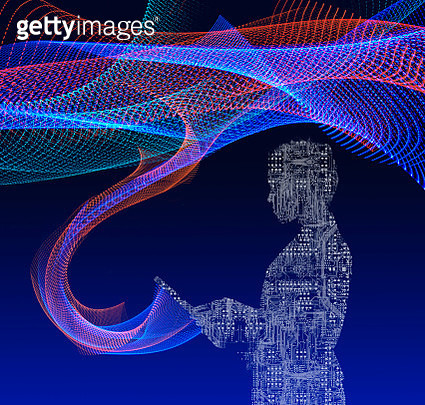 Technology Connections and Communication - gettyimageskorea