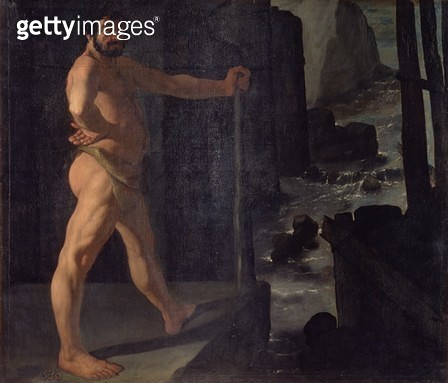 <b>Title</b> : Hercules Changing the Course of the River Alpheus<br><b>Medium</b> : <br><b>Location</b> : Prado, Madrid, Spain<br> - gettyimageskorea