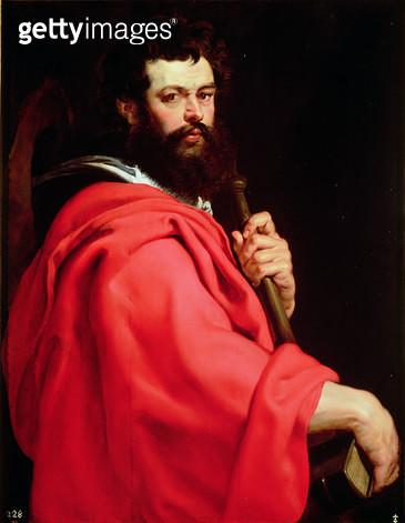 <b>Title</b> : St. James the Apostle, c.1612-13 (oil on panel)<br><b>Medium</b> : oil on panel<br><b>Location</b> : Prado, Madrid, Spain<br> - gettyimageskorea