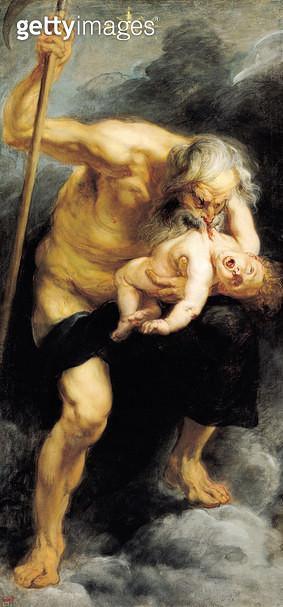 <b>Title</b> : Saturn Devouring his Son, 1636 (oil on canvas)<br><b>Medium</b> : oil on canvas<br><b>Location</b> : Prado, Madrid, Spain<br> - gettyimageskorea