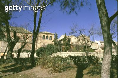 <b>Title</b> : Exterior of El Greco's (1541-1614) studio (photo)<br><b>Medium</b> : <br><b>Location</b> : Casa y Museo del Greco, Toledo, Spain<br> - gettyimageskorea