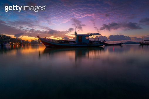 Sunrise at Phuket beach - gettyimageskorea