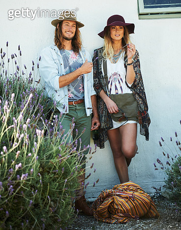Hipster Mr and Mrs - gettyimageskorea