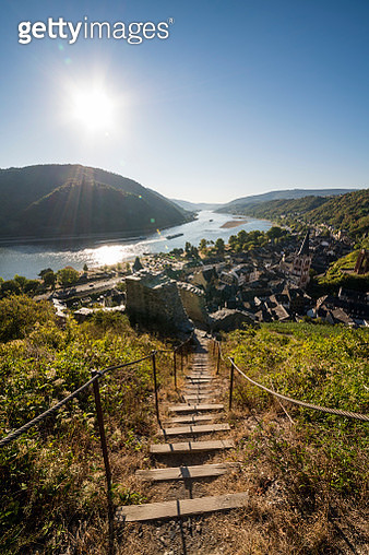 Hiking trail to Bacharach - gettyimageskorea