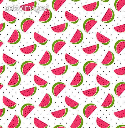 Watermelon seamless pattern - gettyimageskorea