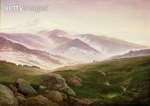 <b>Title</b> : Reisenberg, The Mountains of the Giants, 1839<br><b>Medium</b> : <br><b>Location</b> : <br> - gettyimageskorea