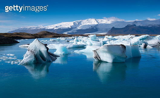 Glacier lagoon, Iceland - gettyimageskorea