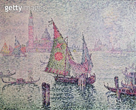 <b>Title</b> : The Green Sail, Venice, 1904 (oil on canvas)<br><b>Medium</b> : oil on canvas<br><b>Location</b> : Musee d'Orsay, Paris, France<br> - gettyimageskorea