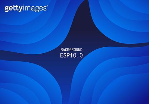 Blue superimposed curve background - gettyimageskorea