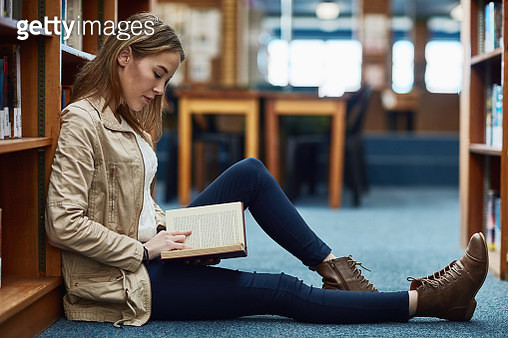 It's her favourite spot to escape in a book - gettyimageskorea