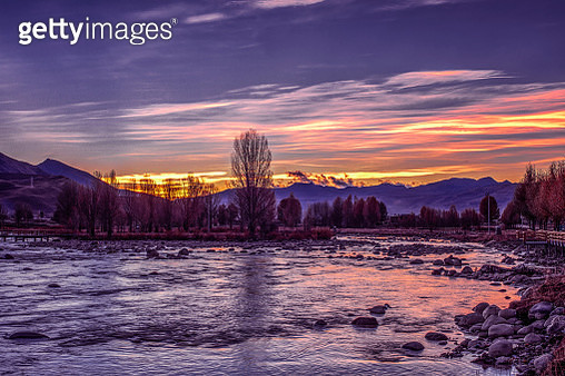 Daocheng County autumn of Sichuan Province,China - gettyimageskorea