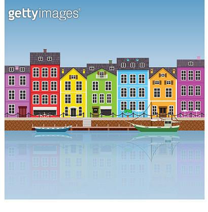 Colorful Buildings - gettyimageskorea