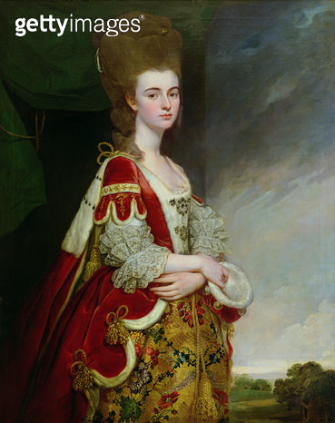 Lady Boston, nee Christian Methuen (oil on canvas) Corsham Court, Wiltshire - gettyimageskorea