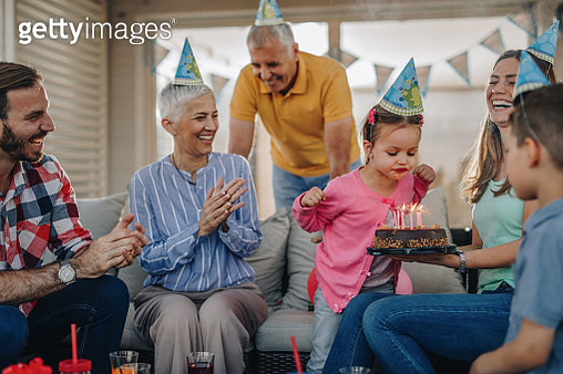 Make a wish and blow your Birthday candles! - gettyimageskorea