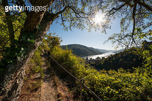 Hiking trail at Bacharach - gettyimageskorea