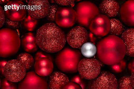 Full Frame Shot Of Baubles - gettyimageskorea