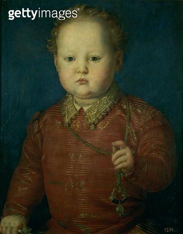 <b>Title</b> : Don Garcia de Medici (?) c.1550 (oil on panel)<br><b>Medium</b> : oil on panel<br><b>Location</b> : Prado, Madrid, Spain<br> - gettyimageskorea