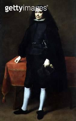 <b>Title</b> : Portrait of a gentleman in a ruff collar, c.1670 (oil on canvas)<br><b>Medium</b> : oil on canvas<br><b>Location</b> : Prado, Madrid, Spain<br> - gettyimageskorea