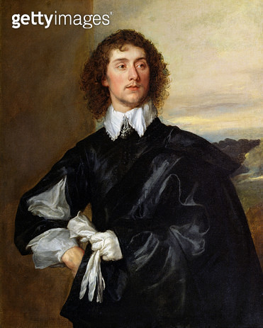 <b>Title</b> : Sir Thomas Hanmer (1612-78) c.1638 (oil on canvas)Additional InfoEnglish gardener and writer; Second Baronet; page and cup-beare<br><b>Medium</b> : oil on canvas<br><b>Location</b> : The Trustees of the Weston Park Foundation, UK<br> - gettyimageskorea