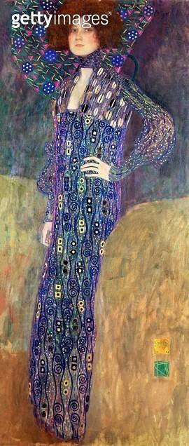 <b>Title</b> : Emilie Floege<br><b>Medium</b> : oil on canvas<br><b>Location</b> : Historisches Museum der Stadt, Vienna, Austria<br> - gettyimageskorea