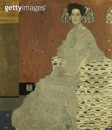 Fritza von Riedler, 1906 (oil on canvas) Fritza von Riedler, 1906 - gettyimageskorea