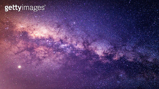 Panorama milky way galaxy with stars and space dust in the universe at dark night. - gettyimageskorea