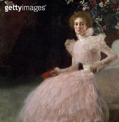 <b>Title</b> : Sonja Knips, 1898<br><b>Medium</b> : oil on canvas<br><b>Location</b> : Osterreichische Galerie Belvedere, Vienna, Austria<br> - gettyimageskorea