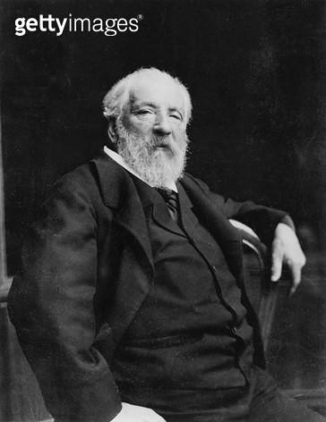 <b>Title</b> : Adolphe William Bouguereau (1825-1905) (b/w photo)<br><b>Medium</b> : <br><b>Location</b> : Archives Larousse, Paris, France<br> - gettyimageskorea
