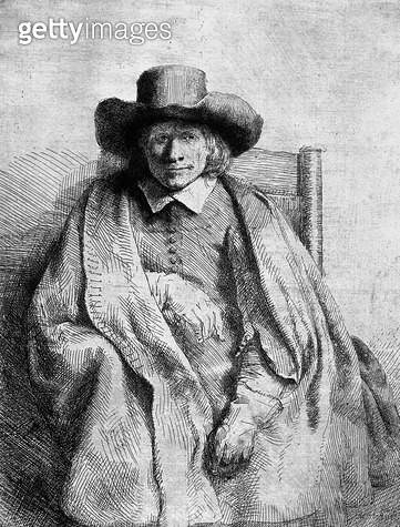 <b>Title</b> : Clement de Jonghe, 1651 (etching) (b/w photo)<br><b>Medium</b> : etching<br><b>Location</b> : Musee de la Ville de Paris, Musee du Petit-Palais, France<br> - gettyimageskorea