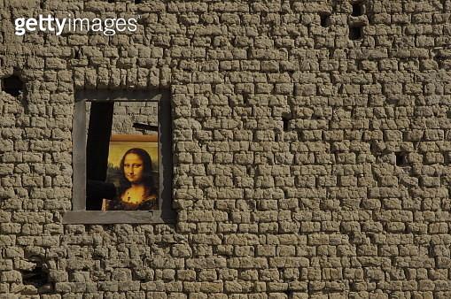 The vanished Mona Lisa - gettyimageskorea