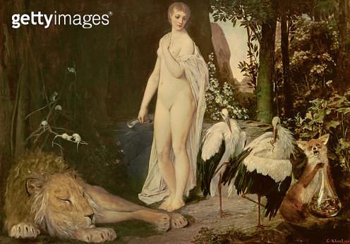 <b>Title</b> : Fable, 1883<br><b>Medium</b> : <br><b>Location</b> : Wien Museum Karlsplatz, Vienna, Austria<br> - gettyimageskorea
