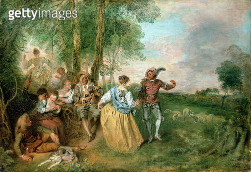 <b>Title</b> : The Shepherds<br><b>Medium</b> : <br><b>Location</b> : Schloss Charlottenburg, Berlin, Germany<br> - gettyimageskorea