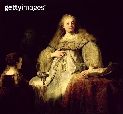 <b>Title</b> : Artemisia, 1634 (oil on canvas)<br><b>Medium</b> : oil on canvas<br><b>Location</b> : Prado, Madrid, Spain<br> - gettyimageskorea