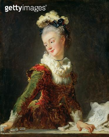 <b>Title</b> : Marie-Madeleine Guimard (1743-1816) (oil on canvas)<br><b>Medium</b> : oil on canvas<br><b>Location</b> : Louvre, Paris, France<br> - gettyimageskorea