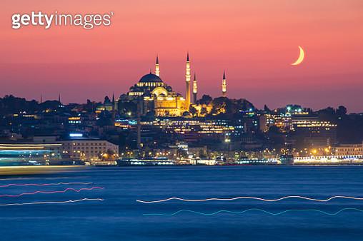 Suleymaniye Mosque, Istanbul. - gettyimageskorea