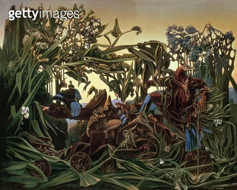 Nature at Dawn (Song of Evening)/ 1938 (oil on canvas) - gettyimageskorea