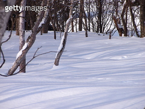 Stripe snow world - gettyimageskorea