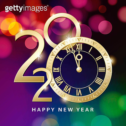 Join the countdown party on the New Year's Eve of 2019 with the colorful light background - gettyimageskorea