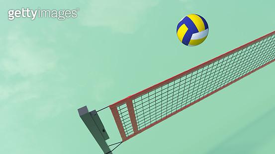 Volleyball ball - gettyimageskorea