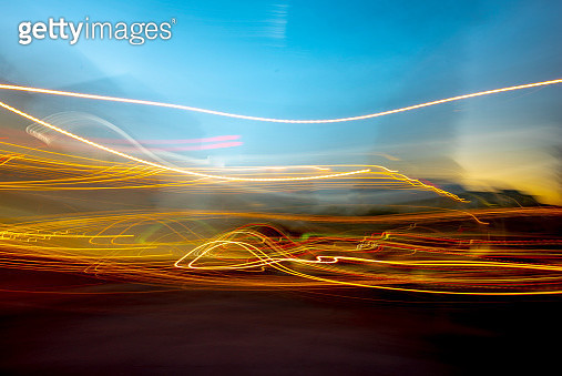Modern Cityscape with Motion - gettyimageskorea