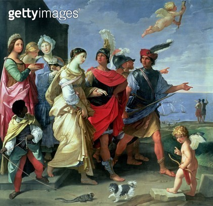 <b>Title</b> : The Abduction of Helen, c.1626-31 (oil on canvas)<br><b>Medium</b> : oil on canvas<br><b>Location</b> : Louvre, Paris, France<br> - gettyimageskorea