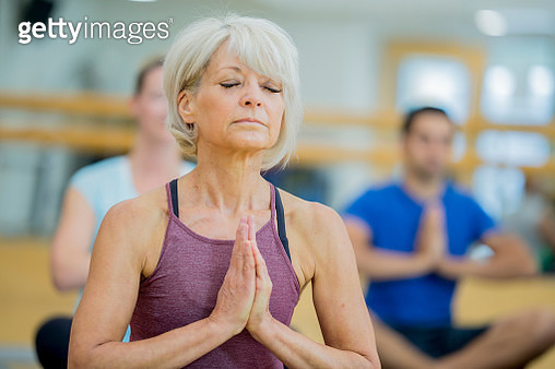 Deep Meditation - gettyimageskorea