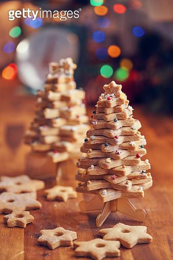 Christmas Tree Cookies - gettyimageskorea