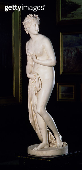<b>Title</b> : Venus (The Hope Venus), 1818-20 (marble) (see 139521)<br><b>Medium</b> : marble<br><b>Location</b> : Leeds Museums and Galleries (City Art Gallery) U.K.<br> - gettyimageskorea