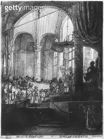 <b>Title</b> : Medea, or the Marriage of Jason and Creusa, 1648 (etching) (b/w photo)<br><b>Medium</b> : etching<br><b>Location</b> : Musee de la Ville de Paris, Musee du Petit-Palais, France<br> - gettyimageskorea