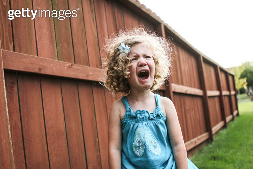 Sad Little Girl - gettyimageskorea