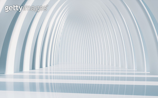 white arched architecture background - gettyimageskorea