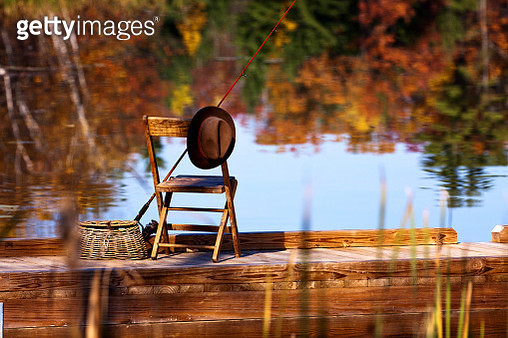 Fishing for Autumn - gettyimageskorea